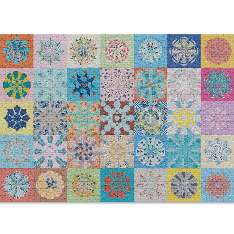 Patchwork puzzle by Cloudberries