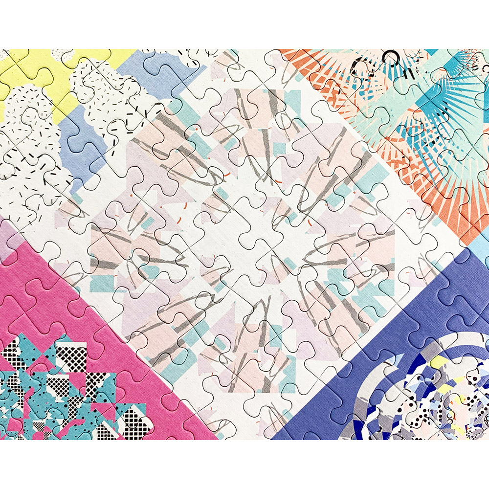 Patchwork puzzle from Cloudberries