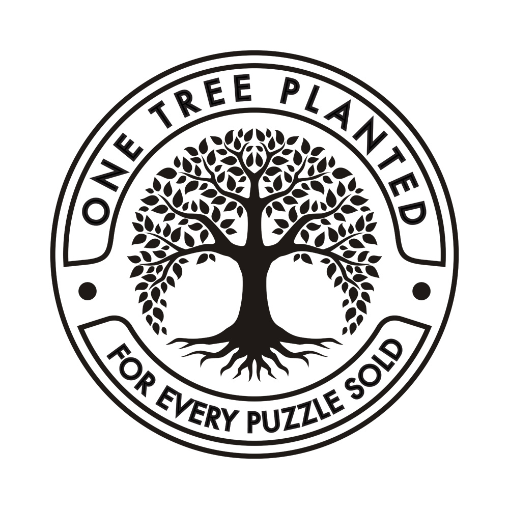 One tree planted for every puzzle sold