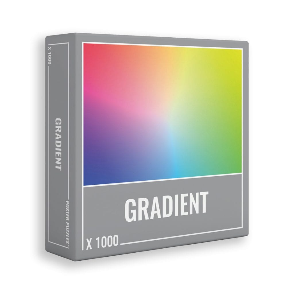 The original Gradient jigsaw puzzle from Cloudberries