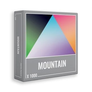 Mountain is a cool 1000-piece gradient jigsaw by Cloudberries