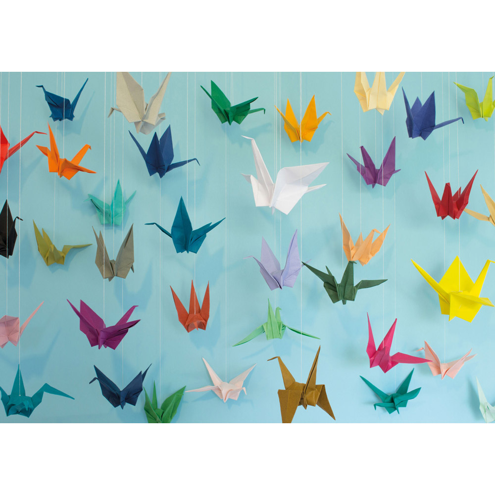 1000 piece Origami puzzle by Cloudberries