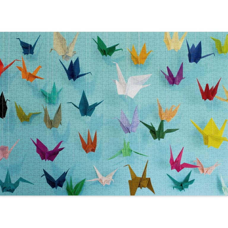 Origami 1000-piece puzzle from Cloudberries