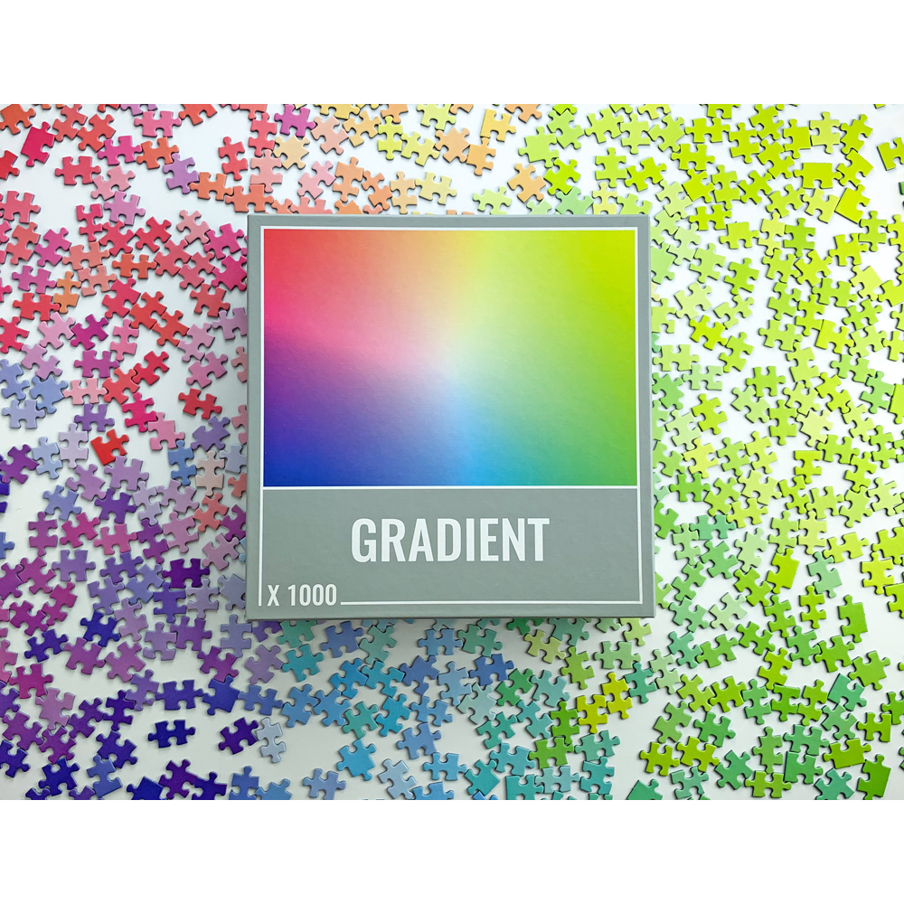 Gradient Jigsaw Puzzle by Cloudberries