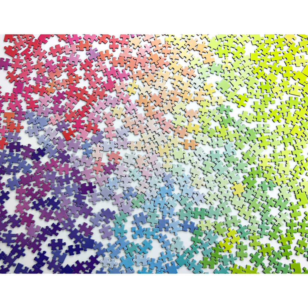 The 1000 piece colour puzzle from Cloudberries