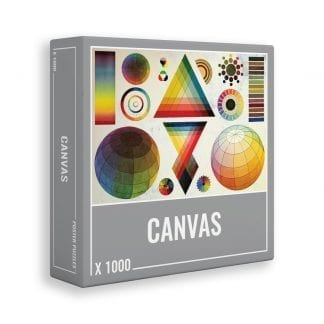 Canvas jigsaw puzzle for adults, by Cloudberries.co.uk
