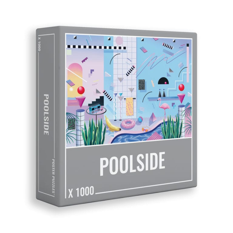 Poolside puzzle by Cloudberries