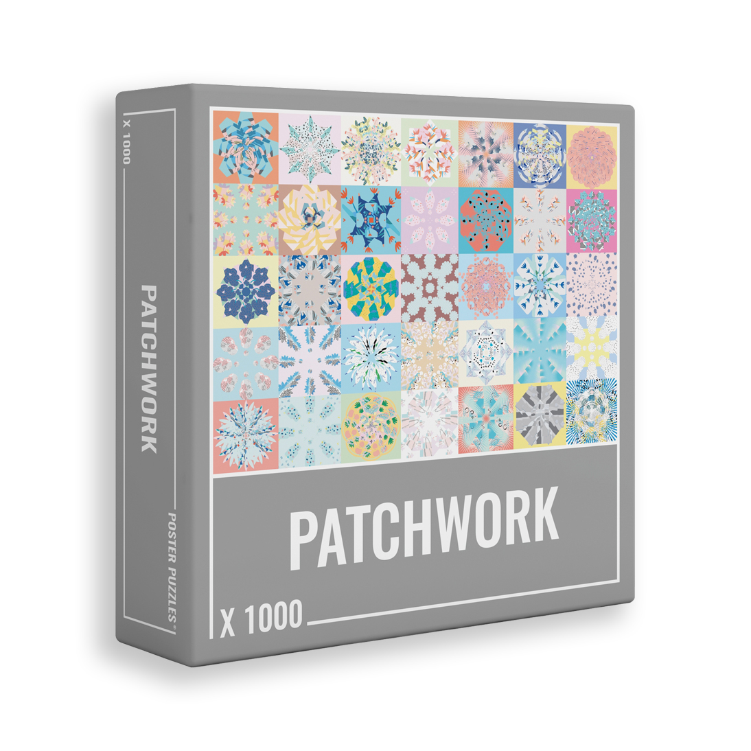 Patchwork 1000-piece jigsaw puzzle by Cloudberries