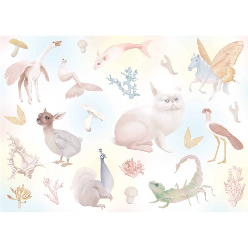 Hybrids is a beautiful, modern 1000-piece puzzle designed especially for grown ups