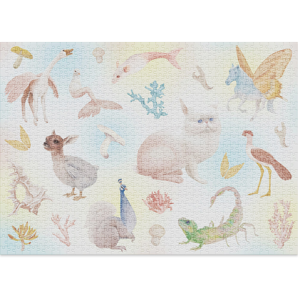 Hybrids 1000 piece puzzle by Cloudberries
