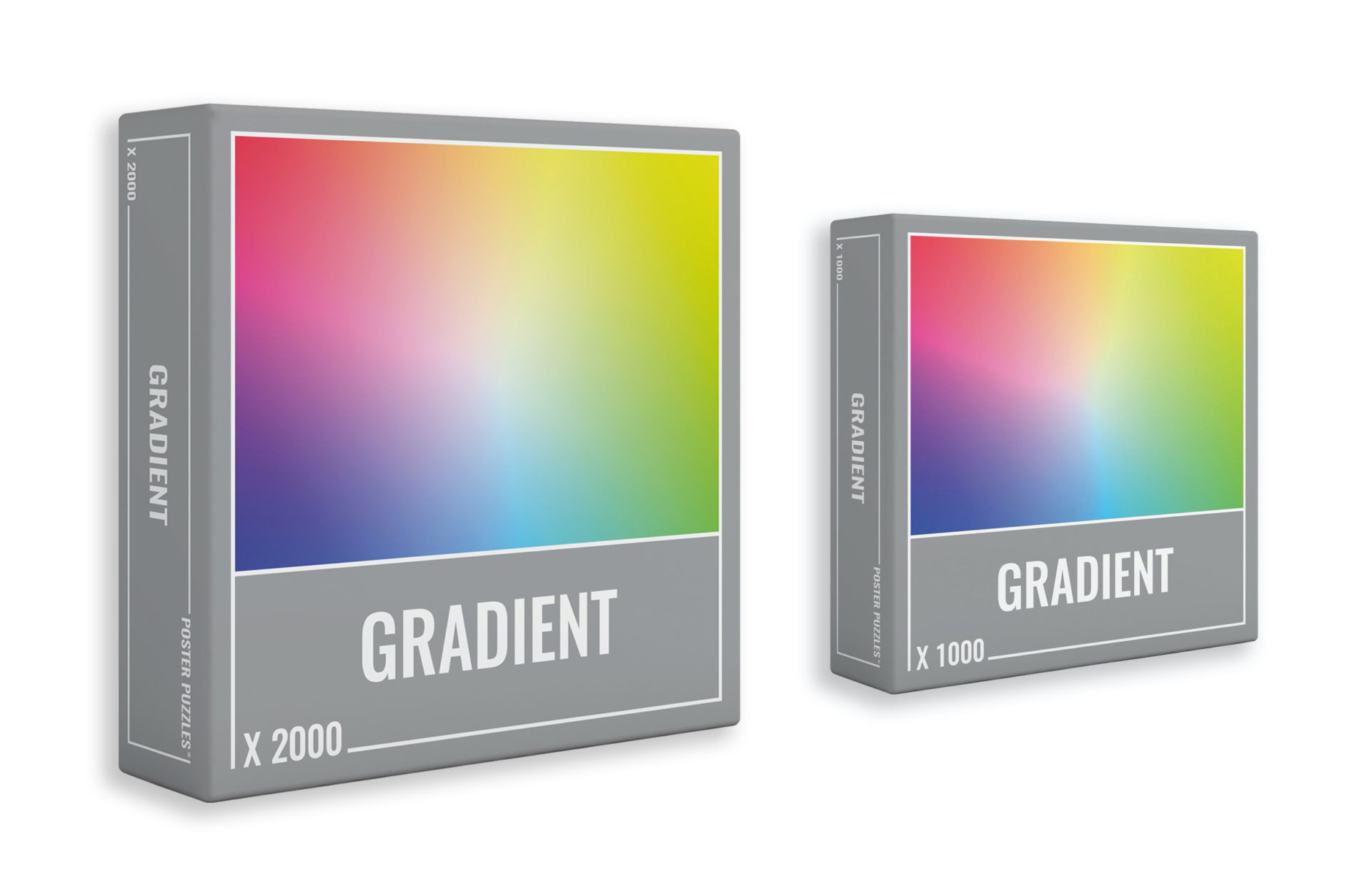The 2000-piece Gradient puzzle from Cloudberries
