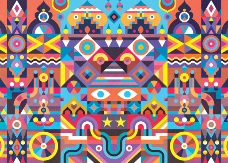 Meet the artist who designed our Symmetry puzzle