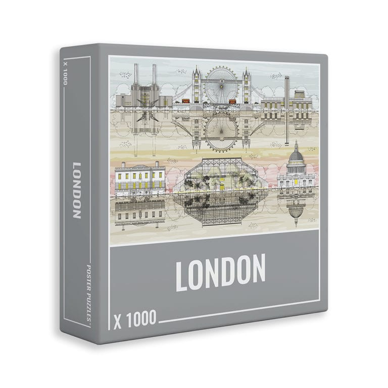 LONDON is a challenging 1000-piece puzzle for adults