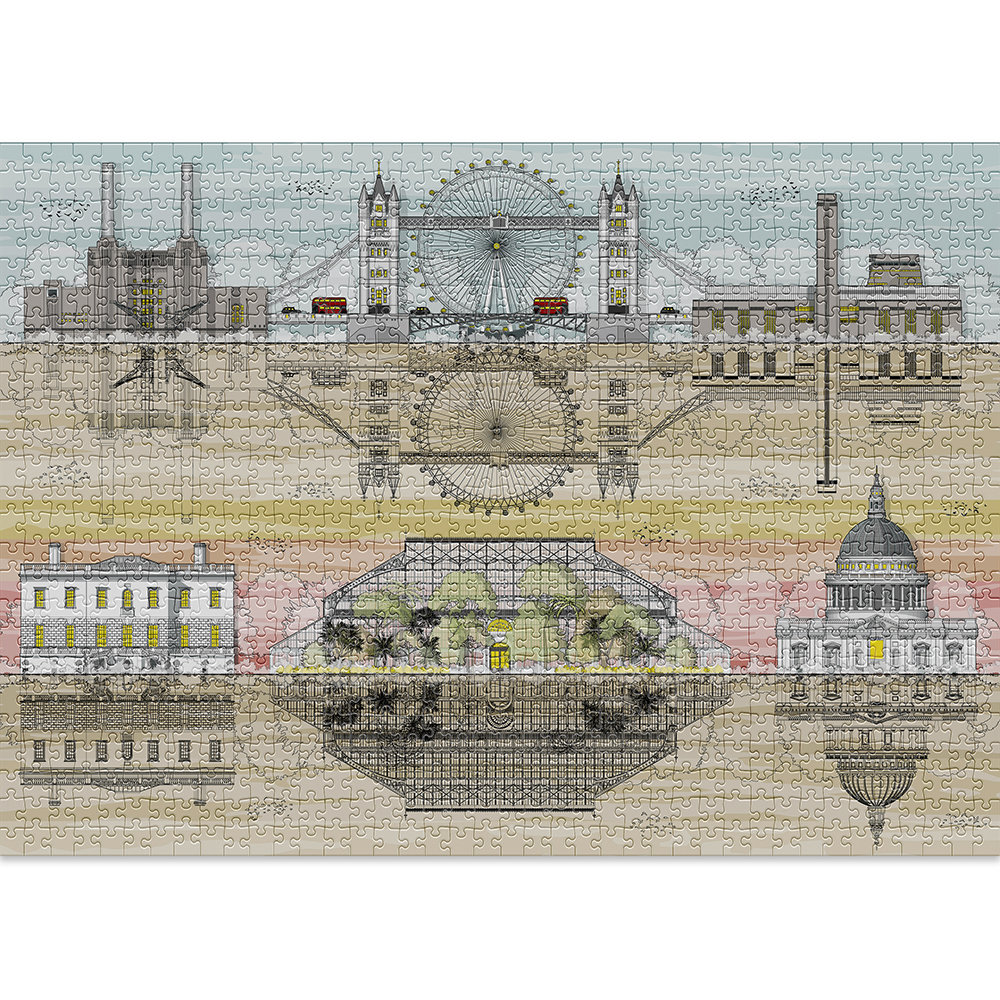 LONDON is the coolest 1000-piece puzzle featuring the British capital