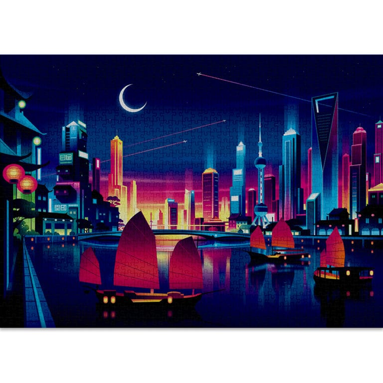 SKYLINE puzzle by Cloudberries