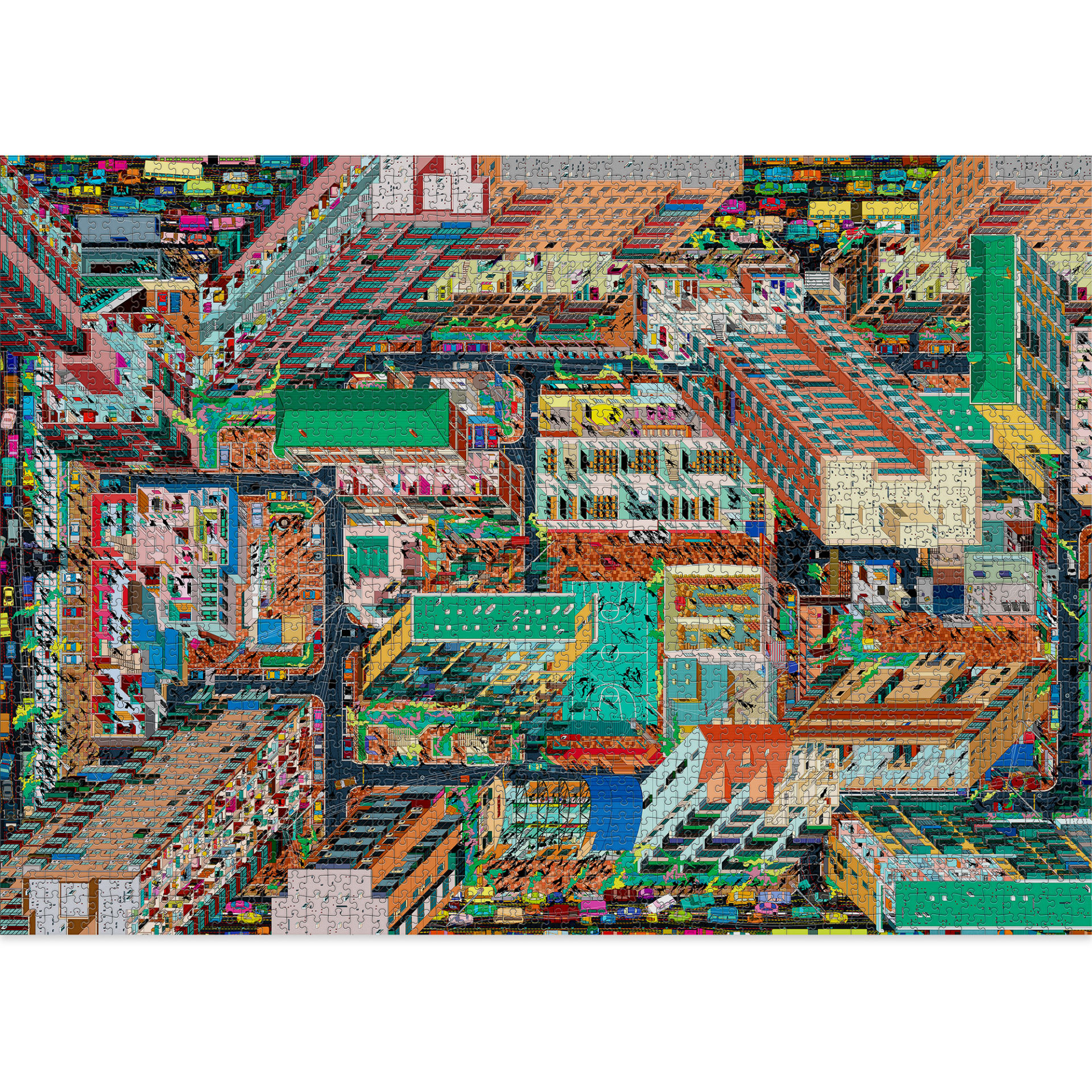Metropolis is one of the most difficult 2000 pieces puzzles by Cloudberries