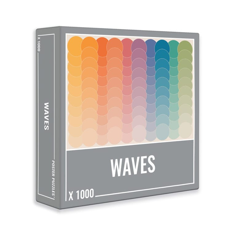 The Waves 1000-piece puzzle by Cloudberries