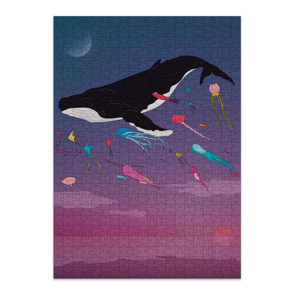 Whale puzzle from Cloudberries