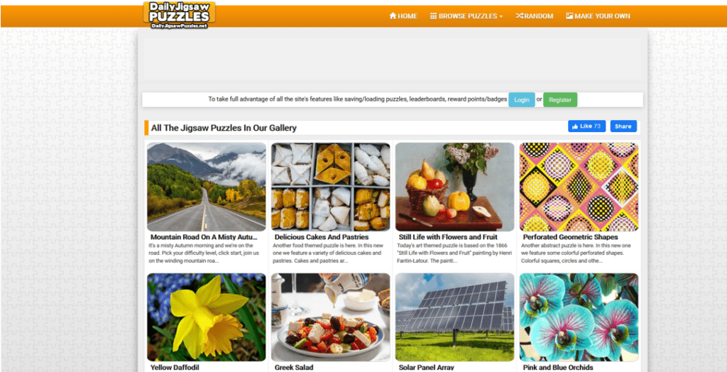 daily jigsaw puzzles website
