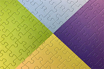 Simple jigsaw puzzles for adults, from Cloudberries
