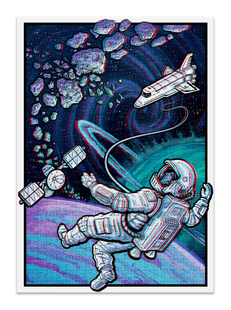 SPACE 3D JIGSAW PUZZLE