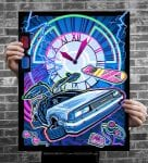 Back to the Future Artwork by Brad Albright