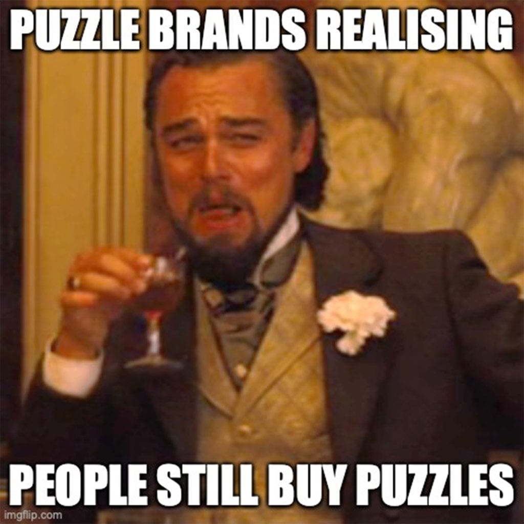 Jigsaw puzzles have been popular throughout recent history