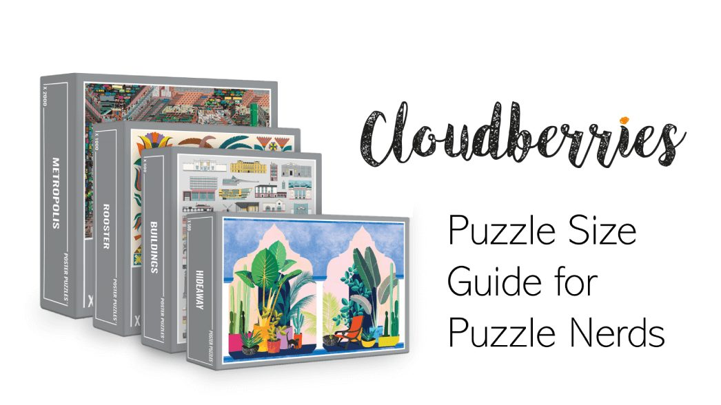 Jigsaw puzzle size guide for puzzle nerds